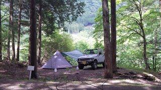 getlinkyoutube.com-初めて買ったテントがドッペルギャンガーのモノポールテント