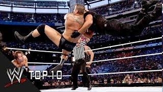 getlinkyoutube.com-Top 10 RKO's - WWE Top 10