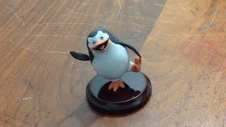 getlinkyoutube.com-Pinguino - Madagascar - Tutorial porcelna fria/plastilina