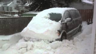 getlinkyoutube.com-1992 Toyota Previa 4wd, trying to get stuck