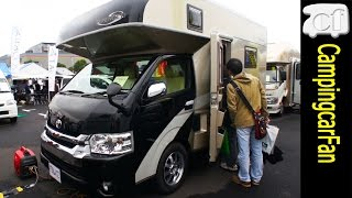 getlinkyoutube.com-【セレンゲティ】 ハイエースワイドワゴンをベース車にしたキャブコン Japanese Campingcar Motorhome