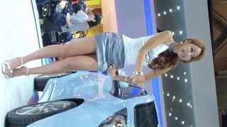 getlinkyoutube.com-[부산 국제 모터쇼] 레이싱 모델 (Race Model) 이다희 (Busan International Auto Show Race queen Lee Dahui)