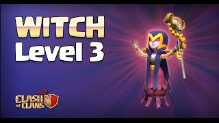 getlinkyoutube.com-Clash of Clans - Level 3 Witches! (Town Hall 11 Update)