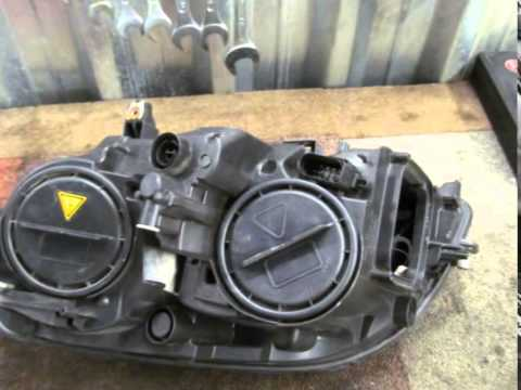Фара правая рестайлинг Mercedes X204 GLK class A2048201639, 2048201639