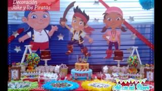 getlinkyoutube.com-Decoración de Jake y los Piratas