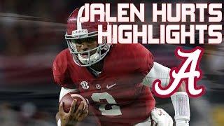 getlinkyoutube.com-Jalen Hurts Alabama Freshman QB Highlights (Mid-Season)