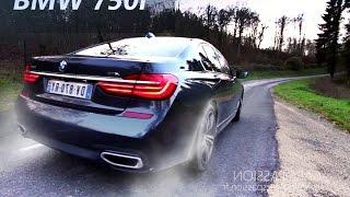 Acceleration BMW 750i M sport 2016