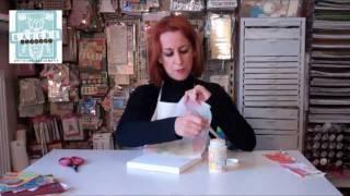 getlinkyoutube.com-paper napkin techniques for a 3D effect