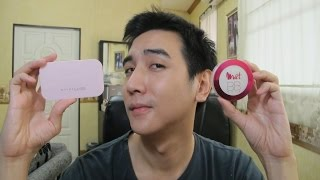 getlinkyoutube.com-รีวิวชนช้าง แป้ง Maybelline clear smooth all in one VS L'oreal mat magique bb veil