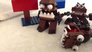 getlinkyoutube.com-Lego mixels stop motion video special 100th sub video