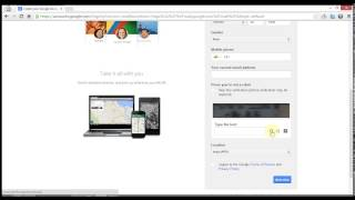 getlinkyoutube.com-Create / make a Gmail account without phone verification or number
