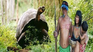 getlinkyoutube.com-INDIANS HUNTING TURTLES IN AMAZON