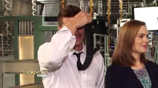 getlinkyoutube.com-[Entrevista subtitulada] David Boreanaz y Emily Deschanel en Hollywood Today Live