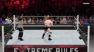 getlinkyoutube.com-WWE 2K15 Extreme Rules 2015 Dolph Ziggler vs Sheamus | Epic Match Highlights!