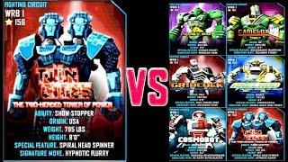 getlinkyoutube.com-Real Steel WRB Twin Cities VS WRB I Series of fights NEW ROBOT (Живая Сталь)