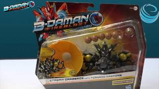 getlinkyoutube.com-B-Daman Fireblast BD-66  Stream Drazeros with Tornado Magazine Unboxing/Review