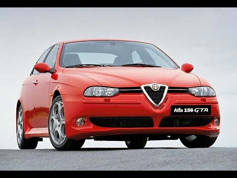 Крутой автомобиль! Alfa Romeo 156 GTA