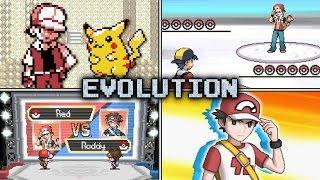 getlinkyoutube.com-Evolution of Trainer Red Battles in Pokémon games (1999 - 2016)