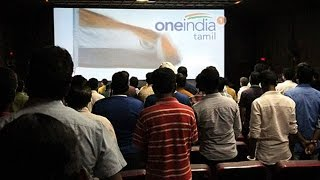 getlinkyoutube.com-Chennai youth beaten up for not standing during National Anthem in theatre | Oneindia News