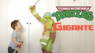 getlinkyoutube.com-Tortuga ninja de juguete ¡¡GIGANTE!!