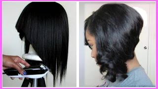 getlinkyoutube.com-How to: Flawless Bob Cut Tutorial