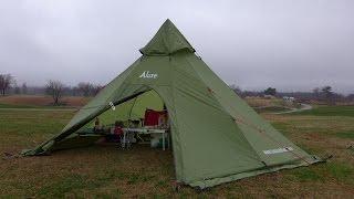 getlinkyoutube.com-ソロキャンプを楽しもう。 初のメガホーンキャンプ ①