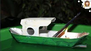 getlinkyoutube.com-Barco a vapor caseiro (Pop Pop Boat)