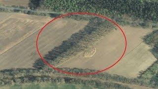 getlinkyoutube.com-WW2 Relikte Teil 85 : Spurensuche - Schützengraben in NDS mit Google Earth entdeckt