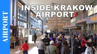 getlinkyoutube.com-Inside Krakow Airport Terminal 1 - John Paul II International Airport Krakow Balice - KRK