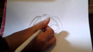 How-to draw an lps lop ear bunny.