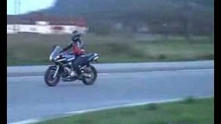 getlinkyoutube.com-Yamaha FZ6 600 exhaust LeoVince