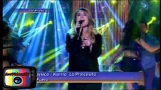 getlinkyoutube.com-Jesica Cirio es Karina la princesita Tu Cara Me suena 3