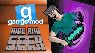getlinkyoutube.com-GMod Hide & Seek! - MINECRAFT SPECIAL PART 2! (Garrys Mod Funny Moments)