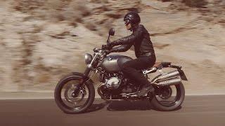 getlinkyoutube.com-2016 BMW R nineT Scrambler Riding