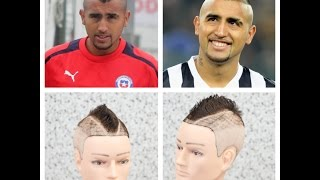 getlinkyoutube.com-Arturo Vidal Haircut Tutorial