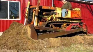 getlinkyoutube.com-Allis-Chalmers HD-7 bulldozer dozing