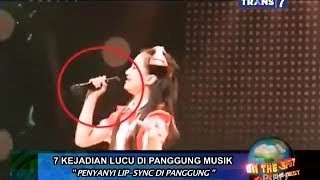 getlinkyoutube.com-On The Spot - 7 Kejadian Lucu di Panggung Musik