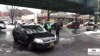 """110Pct NYPD Officers Arrest Traffic Officer, """"They do not remove Gun from Detained guy"""""""