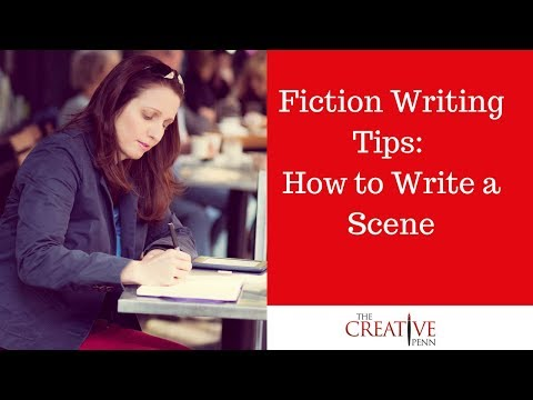 How I Write A Scene For A Fiction Novel