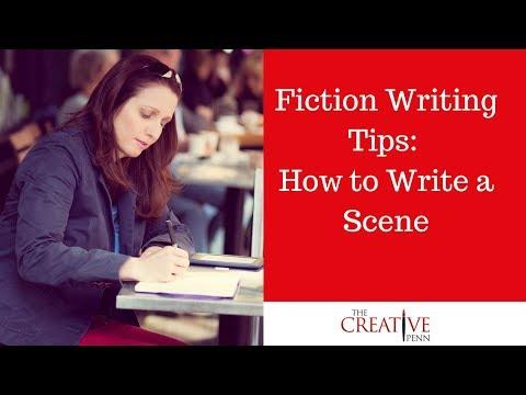 How I Write A Scene For A Fiction Novel