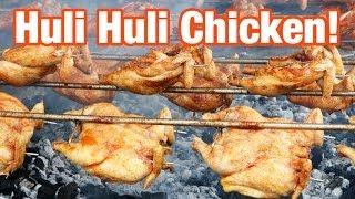getlinkyoutube.com-Huli Huli Chicken at Ray's Kiawe Broiled Chicken in Haleiwa, Hawaii
