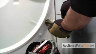 getlinkyoutube.com-Dryer Roller Shaft (part #WPW10359269)-How To Replace