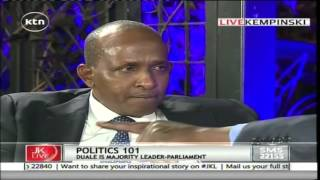 Jeff Koinange Live with Majority Leader in Parliament Aden Duale 17/02/2016 part 1