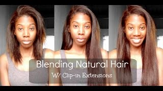 getlinkyoutube.com-How To Install Clip-in Hair Extensions - BetterLength Light Yaki