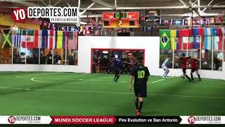 Fire Evolution vs. San Antonio Mundi Soccer League