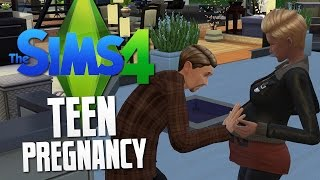 getlinkyoutube.com-The Sims 4 - TEEN PREGNANCY - The Sims 4 Funny Moments #22
