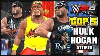 getlinkyoutube.com-WWE 2K15 - Top 5 Hulk Hogan Attires - Community Creations (PS4)