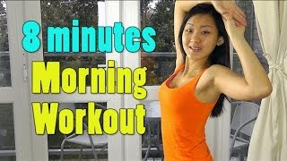 8 Minutes Morning Workout - Lose 2lbs Per Week