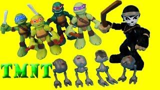 getlinkyoutube.com-Teenage Mutant Ninja turtles Save Casey Jones from Shredder and Krang TMNT NICKELODEON Just4fun290