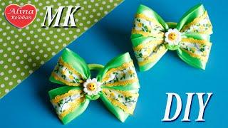 getlinkyoutube.com-Детские Веселые Бантики. Мастер класс / Kids Fun Bows. DIY